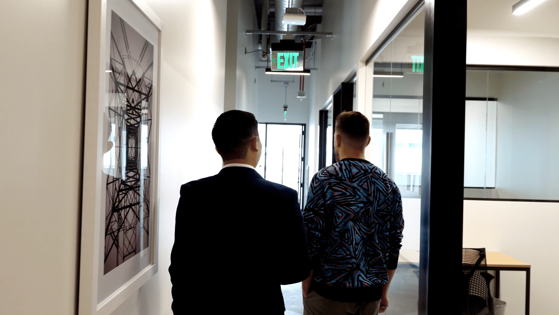 A hero image of Single Origin CEO Noel Ledesma and Creative Director Ian Douglass at the Single Origin Performance Marketing Agency Office in Walnut Creek California