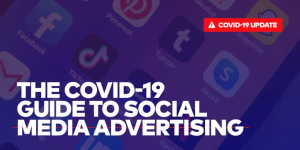 Cover photo for the covid-19 guide to social media advertising by Single Origin media, bay area performance marketing agency